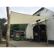 Schaduwdoek vierkant Sunfighters 3,6×3,6m ivoor
