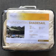 Sunfighters schaduwdoek waterdicht ivoor